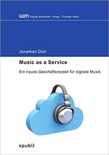 Music as a Service by Dr. Jonathan Doerr